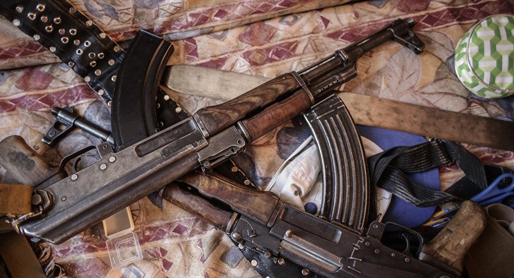 Оружие боевиков, архивное фото