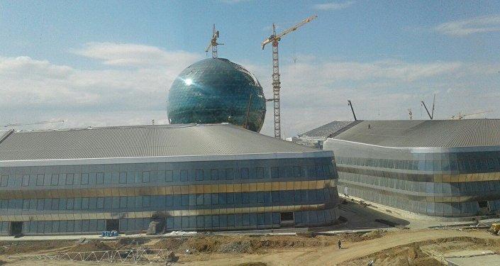 Строительство павильонов для выставки ЭКСПО-2017