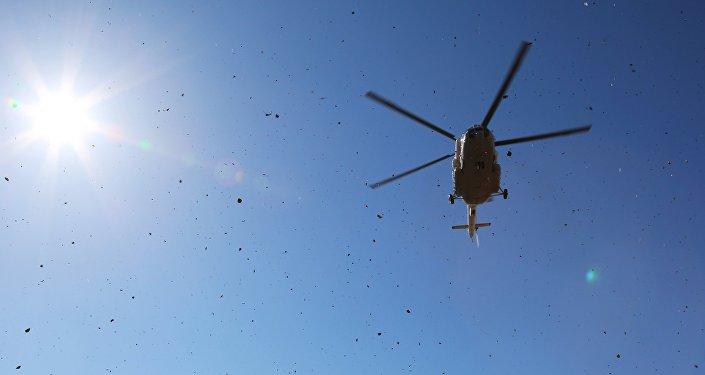 ВКазахстане жёсткую посадку совершил вертолёт Ми-2