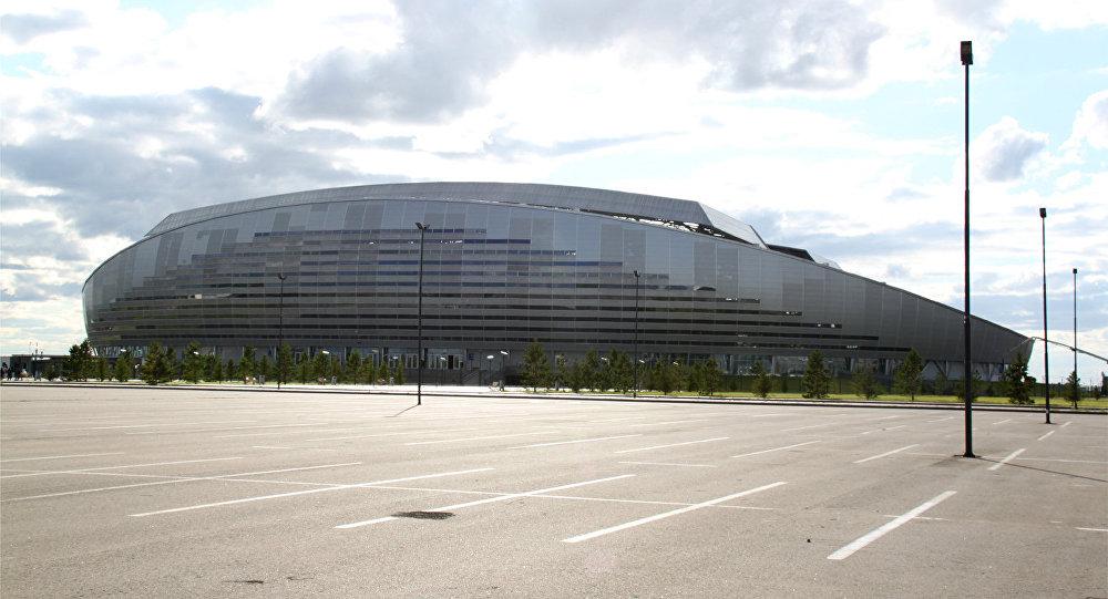 Архивное фото стадиона Астана Арена