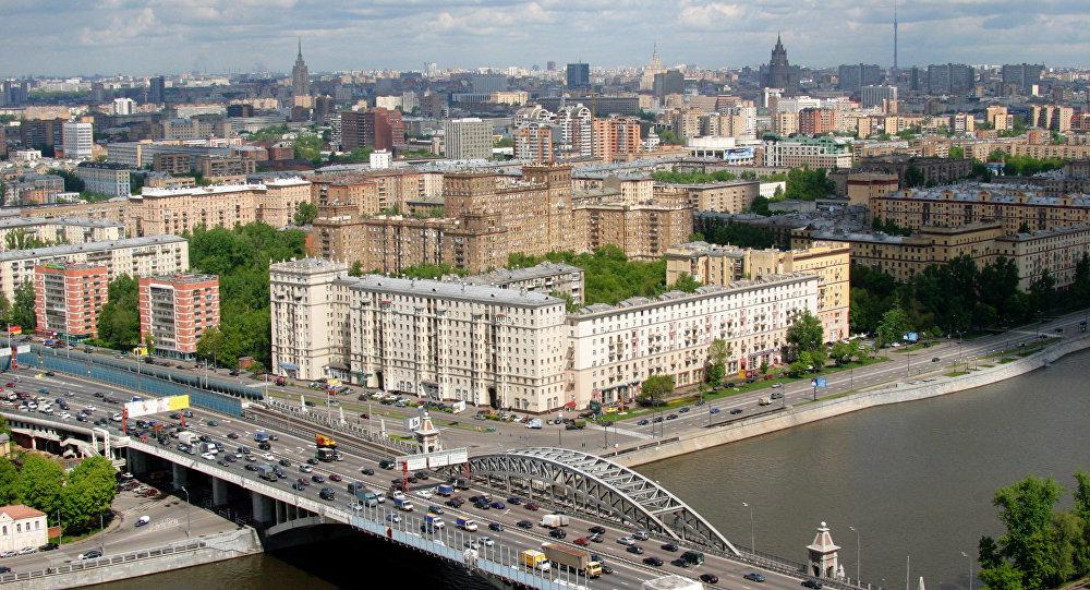 Архивное фото Москвы
