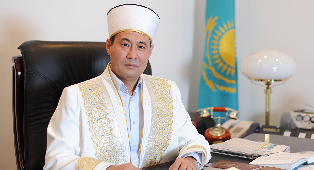 Верховный муфтий Казахстана Ержан Кажы Малгажыулы