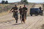 Архивное фото пограничников Казахстана
