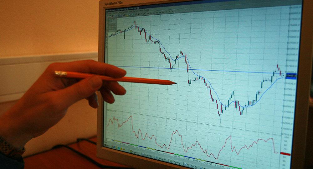 график биржа фондовый рынок