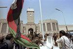 Церемония подъема государственного флага Афганистана