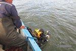 водолаз, вода, озеро, поиски, спасатели