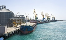 морской порт Актау