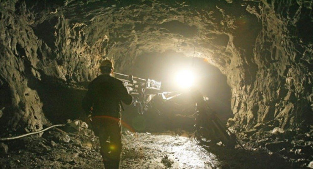 Архивное фото шахты