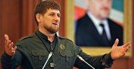 Архивное фто Рамзана Кадырова