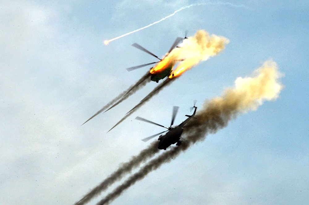 Военные вертолеты, авиация ВВС Казахстана