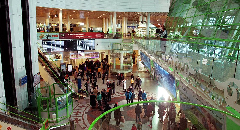 Архивное фото аэропорта Астаны