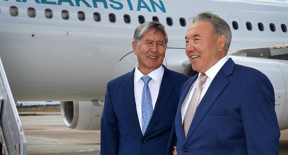 Визит Н.Назарбаева в Киргизию