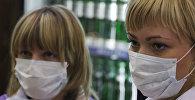 Медицинская маска. Архивное фото