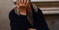 Архивное фото пожилой женщины
