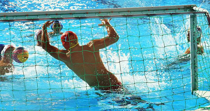 Чемпионат мира по водному поло среди юниоров в Алматы