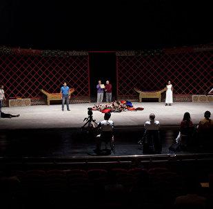 Репетиция оперы Абай в Астана Опера