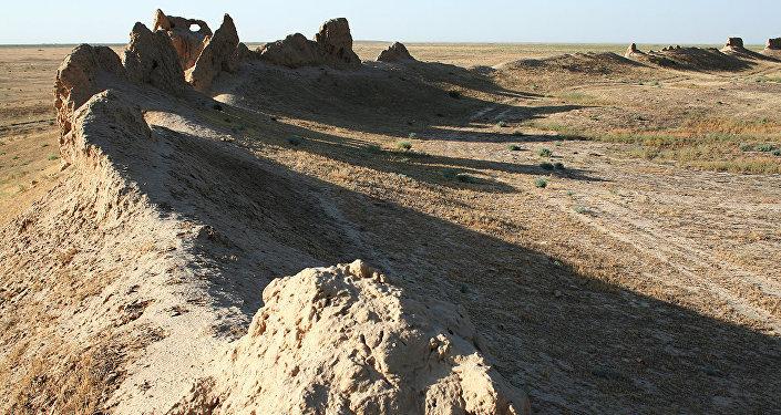 Средневековое городище Сауран