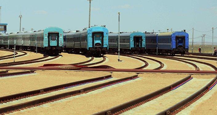 Архивное фото железной дороги