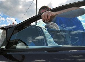 Архивное фото тонировки авто