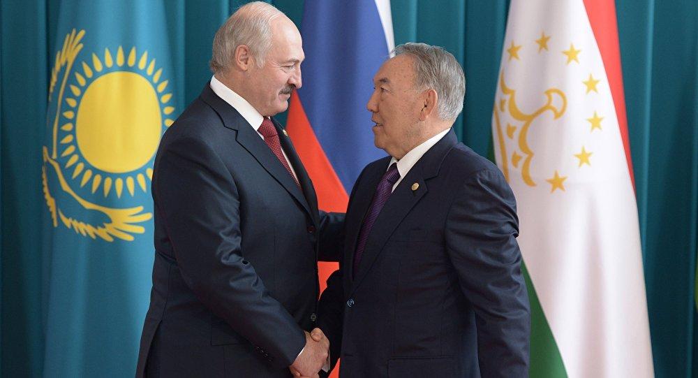 Нұрсұлтан Назарбаев, Александр Лукашенко