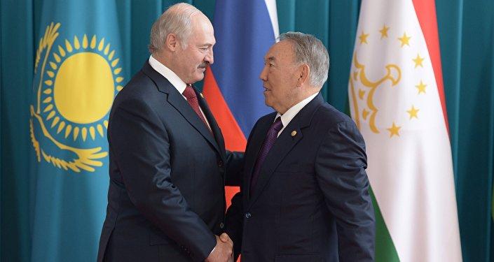 Нурсултан Назарбаев, Александр Лукашенко