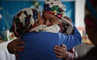 Архивное фото казахов